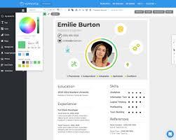Free Online Resume Format Free Resume Cv Maker Get Started In Minutes