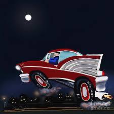 Haulin 57 Digital Art by Doug Gist