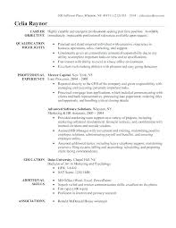 Business Administration Resume Samples Dew Drops