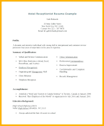Resume Templates For Inspiration Veterinary Receptionist Resume Create My Resume Entry Level