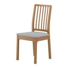 ekedalen chair ikea the upholstered seat and fortable angle of the backrest make the chair perfect