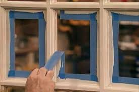 how to paint window frames neatly and