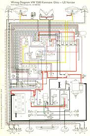thesamba com karmann ghia wiring diagrams 1967 69 usa