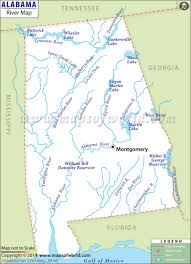 alabama rivers map  rivers in alabama