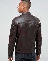 Barney's Originals | Barney's Originals Real Leather Quilted Biker ... & Barney's Originals | Barney's Originals Real Leather Quilted Biker Jacket Adamdwight.com