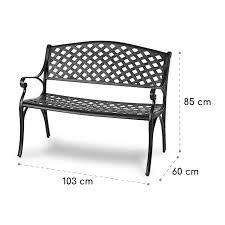 blumfeldt pozzilli bl garden bench