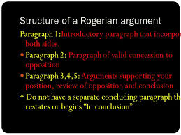 writing the rogerian argument and now orwell s future ppt structure of a rogerian argument paragraph 1 introductory paragraph that incorporates both sides