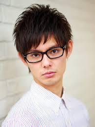 メガネが似合う髪型 男性編