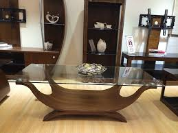 italian wood furniture. Boat Shaped Italian Design Coffee Table With Clear Safety Glass: Amazon.co.uk: Kitchen \u0026 Home Wood Furniture