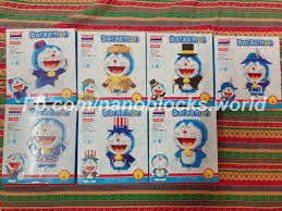 Doraemon còn mấy bộ lẻ, mỗi mẫu còn một... - Xếp hình Nanoblocks