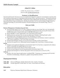 Leadership Section Resume Examples List For Skills Template With