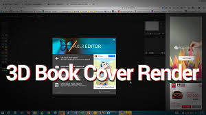how to make a 3d paperback book cover render using only free tools just the tip