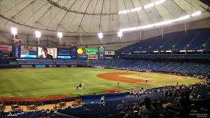 Tropicana Field Section 131 Tampa Bay Rays Rateyourseats Com