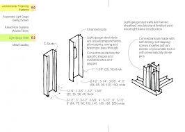 Metal Stud Gauge Chart Aplicativosfb Co