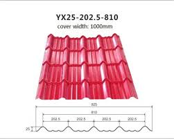 china color coated corrugated metal roofing sheets for roofing building long span 20 years supplier