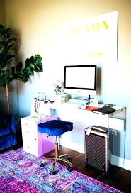 girly office. Feminine Desk Accessories Office Decor For Women Girly Home Decorating Ideas