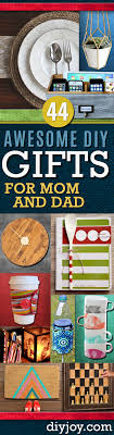 diy gifts for mom and dad homemade gift ideas for your pas cool
