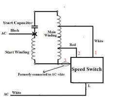 fan wiring diagram capacitor fan image wiring wiring diagram for fan motor the wiring diagram on fan wiring diagram capacitor