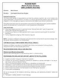direct care job description template direct care job description