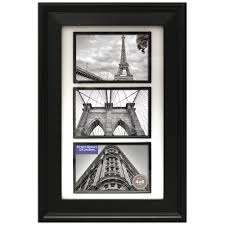 better homes and gardens 3 opening 4x6 beveled picture frame