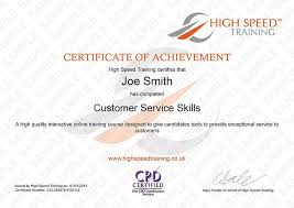 Customer Service Training Course Online Certification