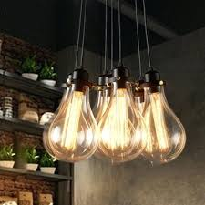 exposed bulb lighting. Cluster Of Light Bulbs Chandelier Multi Bulb Fixture Unconvincing Industrial Pendant In Exposed Style Lighting