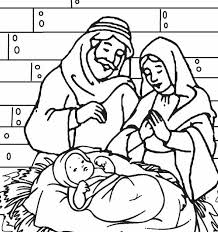 Small Picture Baby Jesus Coloring Pages