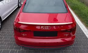 <b>Спойлер</b> багажника ( сабля, лип <b>спойлер</b> ) Audi A4 B8 2007-2012 ...