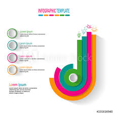 3d Pie Chart Template Modern 3d Pie Chart Infographic Template Buy This Stock