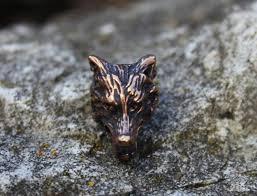 Fenrisshop - Beard pearl wolf