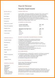 Security Officer Resume Best 6060 Security Officer Resume Sample Lawrencesmeats