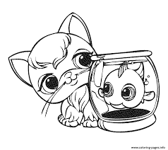 Small Picture Littlest Pet Shop 14 Coloring Pages Printable