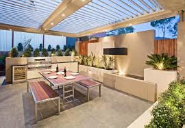 modern outdoor living melbourne. modern outdoor kitchens design ideas, pictures, remodel and decor living melbourne o