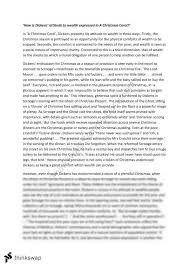 a christmas carol text response essay year vce english  a christmas carol text response essay