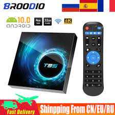 2021Latest T95 Smart Tv Box Android 10.0 4g 64g 128g 2.4g & 5g Wifi  Bluetooth Quad Core Android Set-Top Box Youtube Media Player - Mega  Discount #AD0272