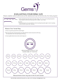 Mobile Ring Size Chart Sample Ring Size Chart Edit Fill Sign Online Handypdf