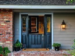 36 front door single inch dutch black entry door with 2 sidelights and screen for 6 36 front door
