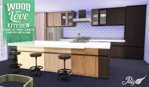 sims 4 kitchen design. wood you love my kitchen sims 4 design