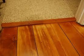 hardwood to carpet transition in doorway
