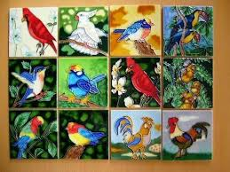 art tile designs. Exellent Tile Design Trends In Handpainted Ceramic Art Tile And Designs R