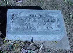 Myrtle Miller Klein (1902-1933) - Find A Grave Memorial