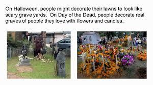 Dia De Los Muertos And Halloween Venn Diagram Halloween Vs Day Of The Dead
