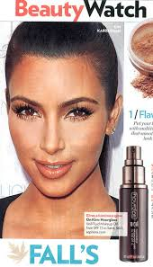 kim kardashian and hourgl veil fluid makeup oil free spf 15 photograph