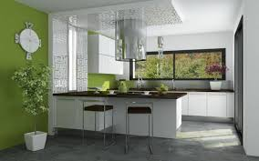 Cocina Verde Moderna