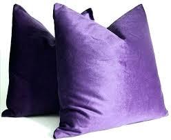 green velvet pillow. Velvet Bolster Pillow Purple Cushion Green