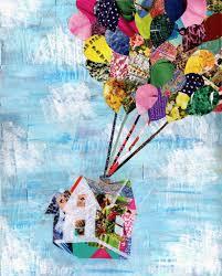 Up House Balloons Up House Wall Art Artpoptart Original Pop Art And Home Decor