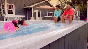 swim spa with grandpas what