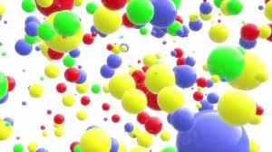 8k Background 8k 4k Uhd Color Balls Points Fun Background Backdrop Stock Video