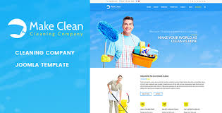 advertising a cleaning business make clean cleaning company joomla template by jlvextension