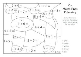 5th Grade Math Coloring Pages Pdf Second Packed With Jafevopusitop